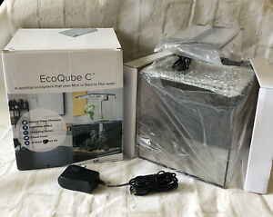EcoQube C Aquarium Science Kit Ecosystem with Accessories-NEW