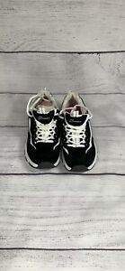 Black and White Sketchers Sport Girls Size 6