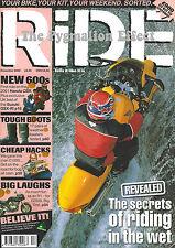 RiDE 2000 - Honda CBR600F Yamaha FZR1000R Deltabox EXUP Genesis Suzuki GSX-R600