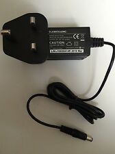 ELEMENTECH AC/DC Power Supply Adapter 12V 2A AU-7970b UK Plug For Cctv Camera