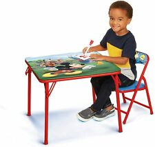 Mickey Kids Table And Chair Set Desk Play Table Toddlers Mesa Sillas Para Niños