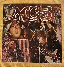 Mc5 Kick Out The Jams Elektra/Rhino 180gm Lp Vinyl 2012 U.S. pressing