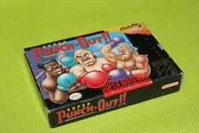 AUTHENTIC Super Punch Out !!! * ORIGINAL * SNES Super Nintendo game BOX ONLY
