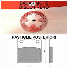 DIS1189 DISCO FRENO POSTERIORE SUZUKI GS 500 F 2008 + PASTIGLIE