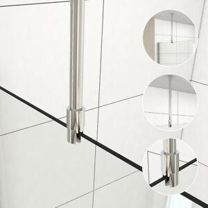 Stabilisationsstange Dusche Glas-Decke Haltestange Stabilisator Duschwand 6-10mm