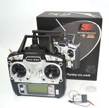6CH TX RX FS-R6B FlySky FS-T6 2.4G RC Transmitter Receiver Radio Control System