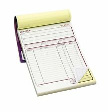 Duplicate Invoice Book For Receipts A5 50 Page Order Pad Cash Purchase Numbered