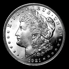 1921 P ~**FROSTY MS++ GEM UNCIRCULATED**~ Silver Morgan Dollar US Old Coin!