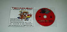 Single CD  Technohead - I Wanna Be A Hippy  5.Tracks  1995  75