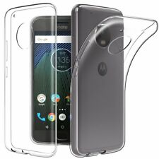 Soft Gel Clear Transparent Case Cover For Motorola Moto G5 G5S G5 Plus G5S Plus