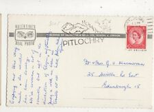 Holiday In Pitlochry 1964 Postmark Slogan 471b
