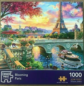 BLOOMING PARIS 1000 Pieces Jigsaw Puzzle - NEW & SEALED