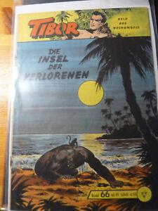 Tibor Held des Dschungels,Gb,Nr.66 Original Lehning