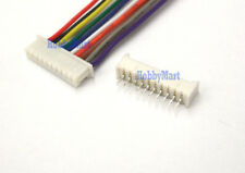 1.25mm Micro JST 10Pin Female Connector with wire 15cm Male Straight Header x 10