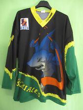 Maillot Roller Hockey Les Squales Rezé porté vintage France CIT DESSAINT - L