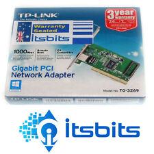 TP-LINK TG3269 GIGABIT 10/100/1000 PCI NETWORK LAN CARD NIC 3YR WTY