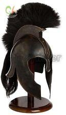 Troy Achilles Armor Helmet Medieval Knight Crusader Spartan Helmet medieval gift