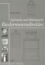 Fachbuch Sächsische und thüringische Biedermeiersekretäre, schöne Bilder, NEU