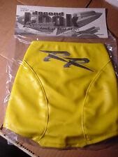 2003 HONDA CBR 600RR TANK BRA Yellow w/Silver RR Embroidered Logo SECOND LOOK