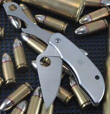 Couteau Spyderco ClipiTool Acier 8Cr13MoV Ouvre Bouteille Manche Acier SC175P
