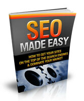 SEO (Search Engine Optimization) Made Easy (E book, PDF) + Master Resell Rights