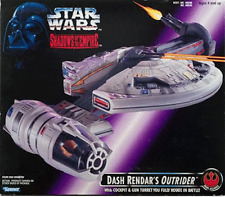Star Wars Dash Rendar's Outrider + Figure Shadow of the Empire Action Figure