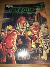 WARP Graphics ELFQUEST #19 Large Format Comic Book (1984) VF orig print