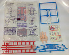 1972 MATTEL RINGLING BROTHER TOY CIRCUS ACROBATIC # 10 TRAPEZE ACT SHELL PLAYSET