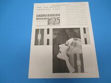 1930 Lady Elgin Watches $25 lowest price for the Modern Girl,Print Ad PA004