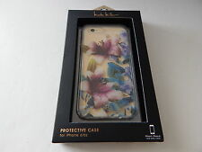 Nicole Miller Flex-It Clear Case For iPhone 6 iPhone 6S Flowers/Multi New