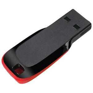 2TB 256GB USB 2.0 Flash Drive Key Chain Memory Stick Pen U Disk Thumb PC