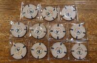 Paradise Island $1 Casino Chip Nassau, Bahamas Lot of 11 chips
