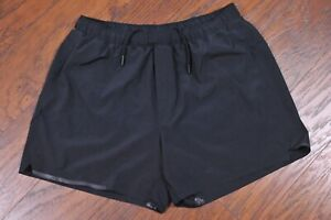 "Lululemon Surge 5"" Short Lined Black Men's Large L"