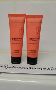 2 X 0.8 Oz Crabtree & Evelyn Cult Collection Pomegranate & Argan Oil HAND CREAM