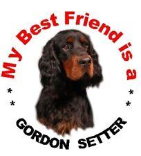 2 Gordon Setter Car Stickers - Starprint - Auto combined postage