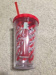 Coca-Cola Coke 16 Fl Oz 473ml Chiller Graphic Drink Glass Cup Coca Cola
