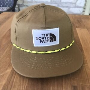 The North Face Corded Cap Junior Youth One Size New hat patch british khaki