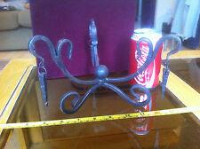 Metal Unusual Light Lamp Casing Holdal Cast Iron Hanging Fixture? Chandelier