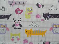 Designers Guild Curtain Fabric MY BEST FRIEND 3.5m Blossom - Kids Design 350cm