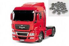 Tamiya MAN TGX 18.540 4x2 XlX-Red Edition + rodamientos de bolas - 56332ku