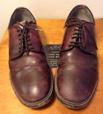 ZARA MAN Men's Brown Leather Dress Shoes Cap Toe Size 42 Oxford Lace Up