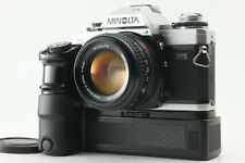 [N MINT] Minolta X-700 MPS w/ MD ROKKOR 50mm f/1.4 & Motor Drive from JAPAN #054