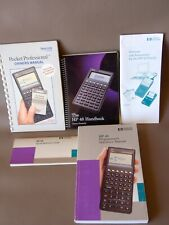 HP 48SX Scientific Calculator Handbook W/Programmer's Reference & Owner's Manual