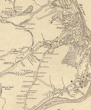 Shelton Huntington Housatonic Trap Fall CT 1942 Maps with Homeowners Names Shown
