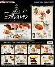 Re-ment miniature French Restaurant 2008 Set 8