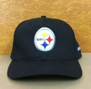 Vintage NOS Reebok PITTSBURGH STEELERS NFL Football Hat Cap New with Tag