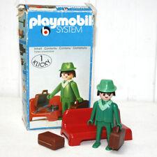 playmobil 3321 Voyageur de train vintage complet