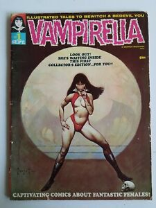 Vampirella Magazine (1969) #1 - First appearance, Frazetta, Adams