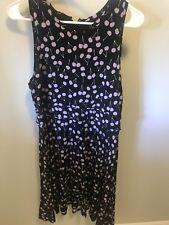 Ann Taylor Loft Cherry-print Dress Size 10