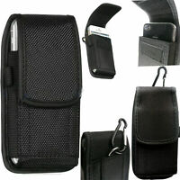 Universal Belt Hook Pouch Bag Nylon For All Mobile Phone Case Cover Holster 2in1